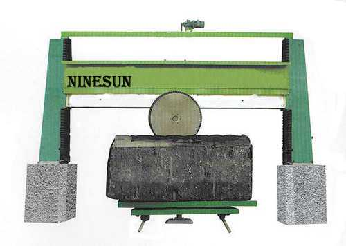 block squaring cutting machine
