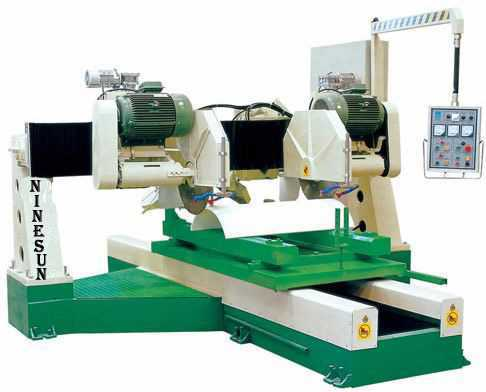 edge cutting machine for column slab