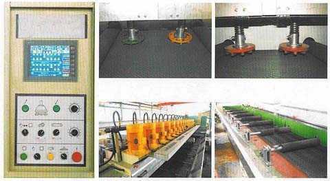 polishing machine for slab